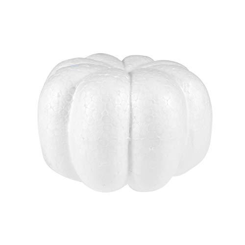 Amosfun 2 stücke künstliche kürbisse Schaum gefälschte kürbis DIY Herbst Ernte Thanksgiving Party tischdekor (20 cm + 13 cm)