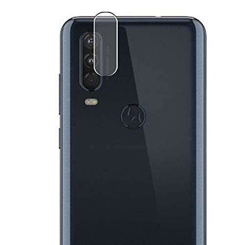 Vaxson 2 Unidades Protector de Lente de Cámara, compatible con Motorola Moto One [No Vidrio Templado/Funda Case ] TPU Película Protectora