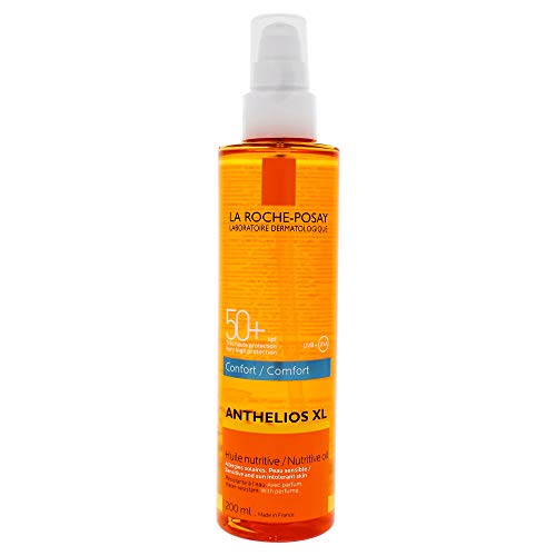 La Roche Posay Anthelios XL Confort - Aceite Nutritivo Invisible, SPF50+, 200ml