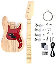 DIY Electric Bass Guitar Kit - Short Scale P Bass Build Your Own