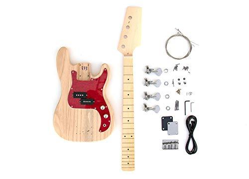 DIY Electric Bass Guitar Kit - Short Scale P Bass Build Your Own