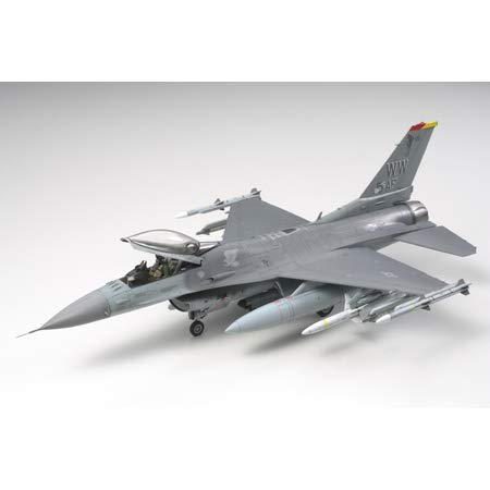 Tamiya 61098 1/48 Lockheed Martin F-16CJ Plastic Model Airplane Kit