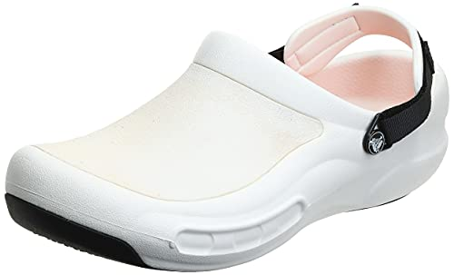 Crocs Men's and Women's Bistro Pro Work Clog Slip Resistant Work Shoe, Great...