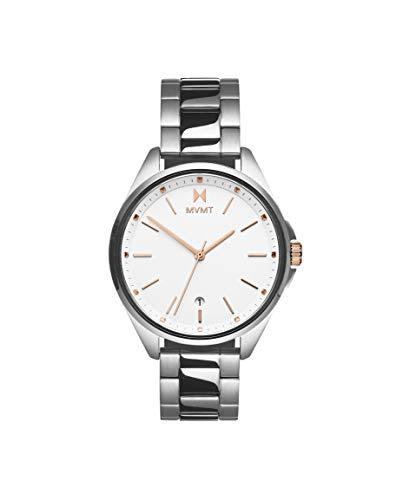MVMT Damen Analog Quarz Uhr mit Edelstahl Armband 28000001-D