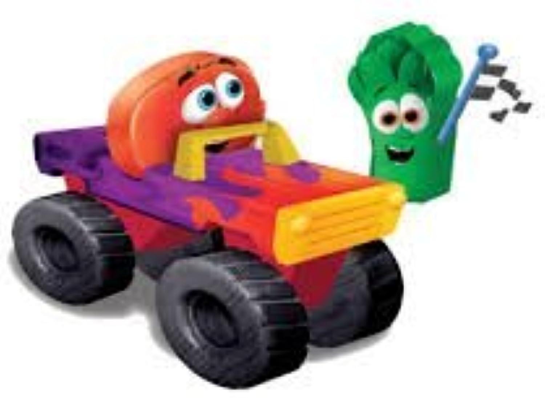 Precio por piso Veggie Veggie Veggie Tales Keep Movin' Truck Wooden Jugar Set (00882) by VeggieTales  los clientes primero
