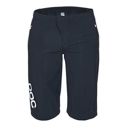 POC Essential Enduro, Pantaloncini Uomo, Uranium Black, Sml