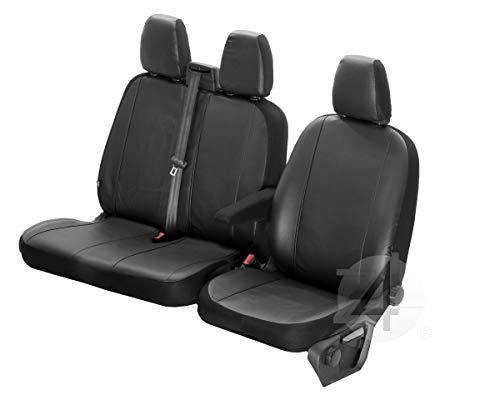 Z4L Sitzbezüge VIP Passgenau geeignet für Mercedes VITO W447 ab 2014-2+1