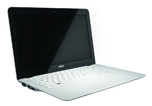 MSI X320-032UK 13 inch Laptop (TFT Intel Atom Z530 1.6GHz, RAM 2GB, HD 250GB, LAN, WLAN, Vista Home Premium) - White