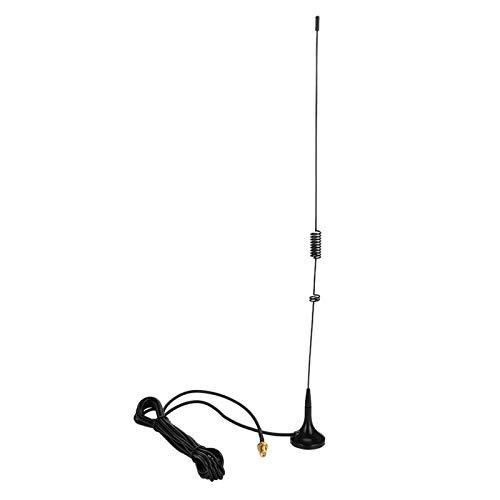 LOVINO Antena De Coche, Antena Hembra SMA De Doble Frecuencia Ut-106Uv, Antena MagnéTica para VehíCulos VHF/UHF, para Baofeng Uv-5R