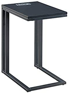 Soho C-Table in Black