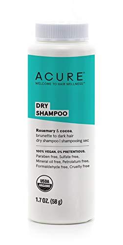 ACURE Trockenshampoo, brünett bis dunkles Haar.