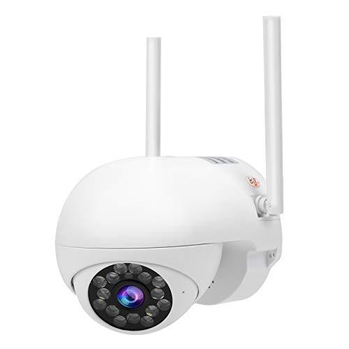 Okuyonic Cámara Pan/Tilt Cámara Domo a Todo Color a Prueba de Agua Seguimiento de Movimiento Cámara IP 1080P WiFi 6(European regulations)