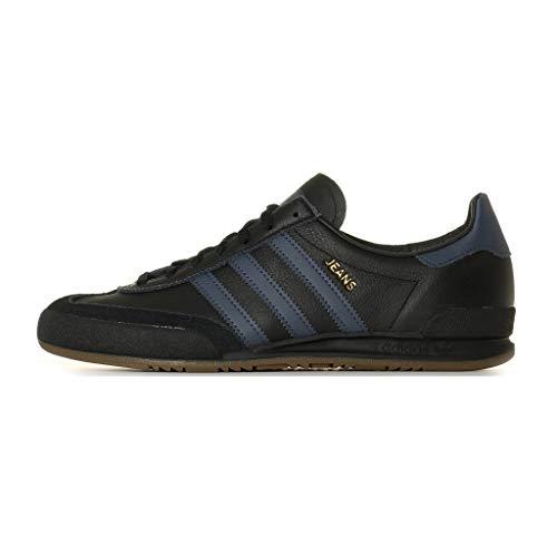 Adidas Jeans, Zapatillas de Deporte para Hombre, Negro (Negbás/Azutra/Gum5 000), 36 2/3 EU