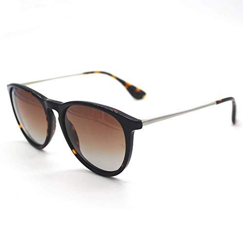 WSYGHP Gafas de sol para mujer UV400 marrón mujeres modelos polarizadas gafas de sol caja grande gafas de sol gafas de sol