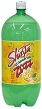 (Pack of 6) Shasta Soda Zazz Grapefruit, 2.5Ltr
