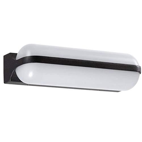 Wmdtr Luz de Pared Moderna y Sencilla, Sconce Ovalado LED, Lámpara de acrílico translúcido Apliques for Sala de Estar Dormitorio Hallway Restaurant Coffee Shop Bar Club (tamaño : UN)