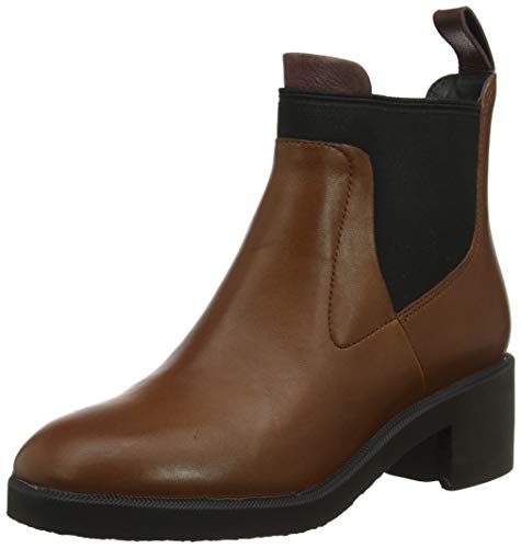 Camper Wonder, Botines Mujer, Marrón Medium Brown