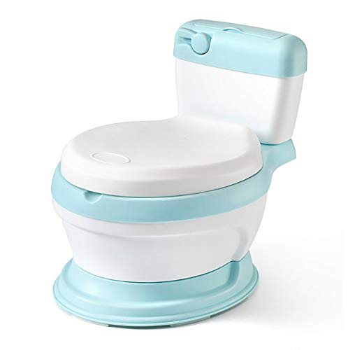 Kids Toilet Training Seat, 3-in-1Portable Baby Toilet,Training Seat, to Step Stool,Removable PartsEasy to Clean,Best Choice for Parents,Blue
