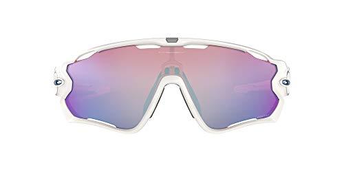 Oakley Jawbreaker 929021, Gafas de Sol para Hombre, Polished White, 1