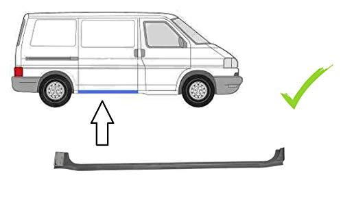Schweller unter der Schiebetür rechts Beifahrerseite Einstiegsblech Reparaturblech für TRANSPORTER IV Bus Kasten