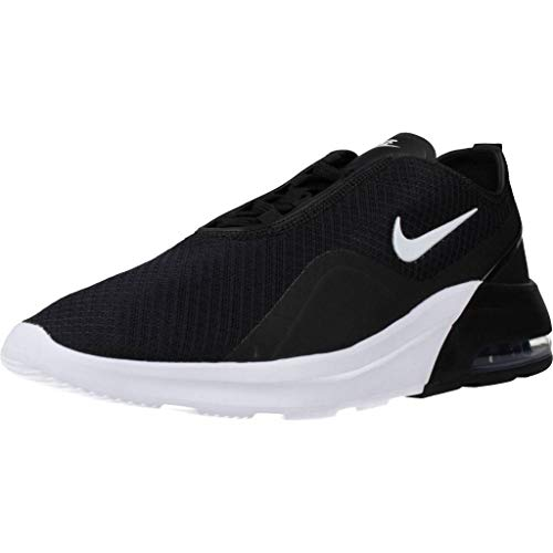 Nike Men's Air Max Motion 2 Sneaker (12, Black/White)
