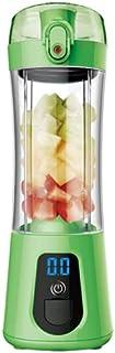 Blender électrique, Blender, Presse à jus d'orange USB portable, sertissant orange ménagers (26cm * 8cm * 8cm),Green