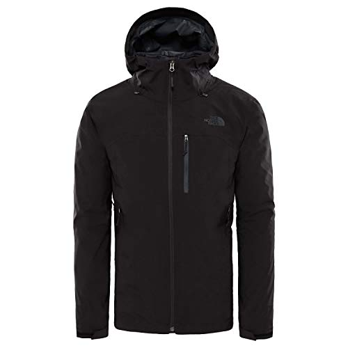 THE NORTH FACE Herren Thermoball Triclimate Jacke, TNF Black/TNF Black, XL