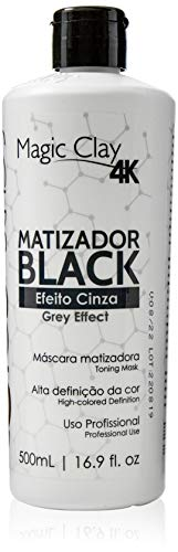 Felps Color Matizador Black 4K Efeito Cinza 500ml, Felps, 500ml