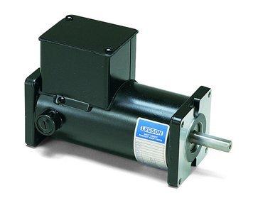 Permanent Magnet 180VDC Motor TENV 1/15 hp 1750 RPM 31BS Frame Leeson Electric Motor M1120039