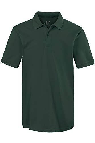 JP 1880 Herren große Größen bis 8XL, Poloshirt, Oberteil, Knopfleiste, Hemdkragen, Pique, dunkelgrün 8XL 702560 40-8XL