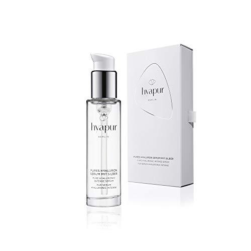 hyapur® - Hyaluron Serum PUR 50ml - Reinstes Hyaluronsäure Gesichts Serum mit Silber - zur Anti-Aging Pflege