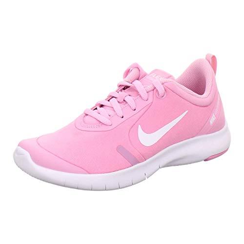 Nike Unisex Flex Experience Rn 8 Gs Leichtathletikschuhe, Mehrfarbig (Pink Rise/White/Pink Foam 600), 38 EU