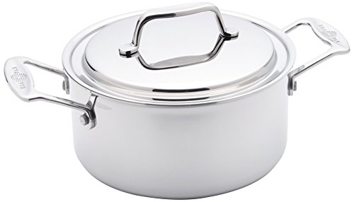 USA Pan Cookware 5-Ply Stainless Steel 3 Quart...