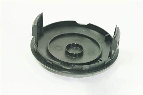 Grizzly Tapa de repuesto para desbrozadora de césped ERT 500 pro cubierta de bobina, cubierta de bobina para cortacésped eléctrico