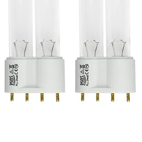 Twin Pack 24W (Watt) PLL Ersatz-UV-Lampe für Teichfilter UVC