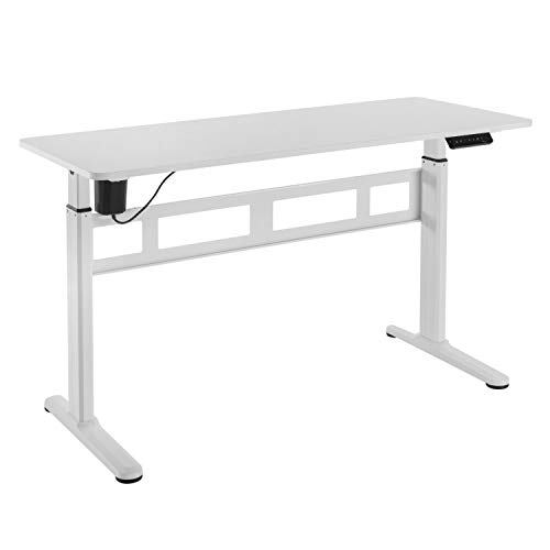 HOKO® Ergo-Work-Table - Mesa de trabajo compacta (eléctrica, altura regulable, incluye mesa),...