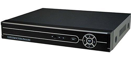 4CH DVR 録画装置 H.264品質 防犯録画デッキ 防犯カメラ4台まで接続可能 同時録画サポート H.264デジタルレ...