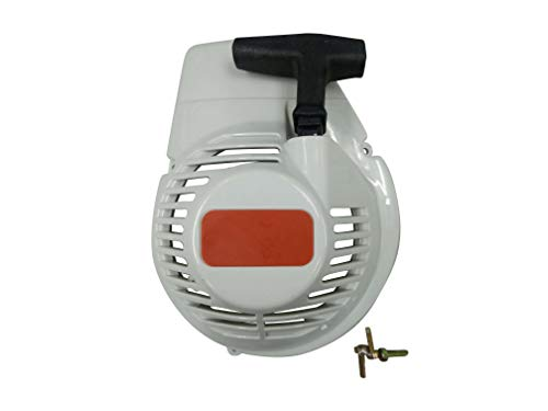ENGINERUN Recoil Rewind Pull Start Starter Cover Assembly for Stihl TS350 TS360 Cut-Off saws OEM 42010802101 4201-080-2101