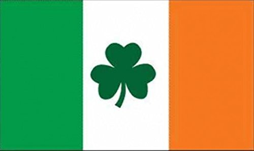 UB Fahne/Flagge Irland mit Shamrock Kleeblatt 90 cm x 150 cm Neuware!!!