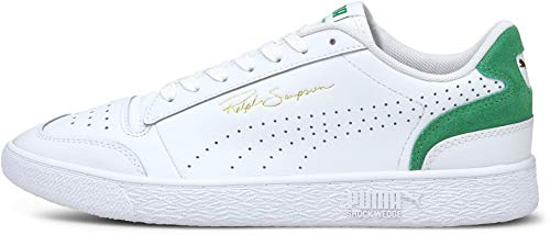 PUMA Ralph Sampson LO Perf COLORBL, Zapatillas Unisex Adulto, Blanco Amazon Verde, 38 EU