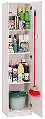 HABITMOBEL Armario Multiusos, 1 Puerta Alto Especial 180 cm