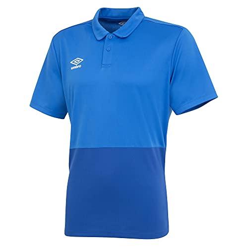 UMBRO - Polo para Hombre, Azul, Azul Marino, Extra-Large