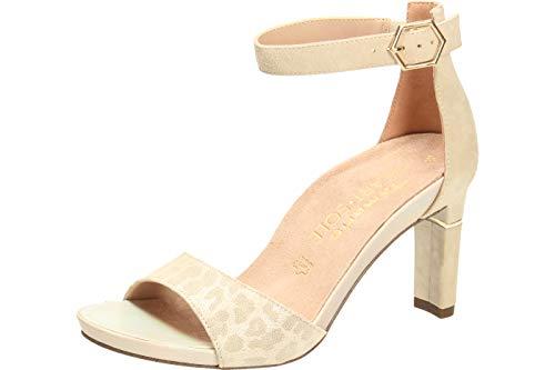 Tamaris Sandaletten über 50 mm gl. Boden Gr.39, Beige