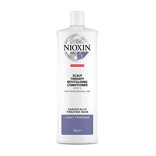 NIOXIN - Acondicionador Scalp Therapy Revitalizing - para Cabello Tratado Químicamente y Debilitado - Sistema 5 - Paso 2 - 1L