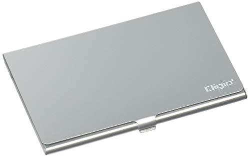 Digio2 SD・microSDカードケース(丈夫なアルミ素材) シルバー MCC-1000SL