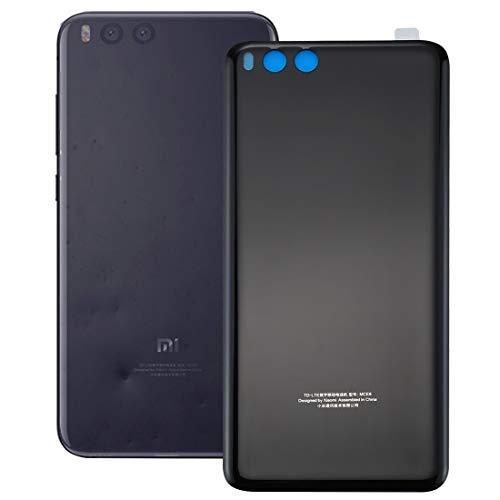 XINGCHEN Piezas de Repuesto For Xiaomi Mi Nota 3 batería Cubierta Trasera con Adhesivo (Color : Black)