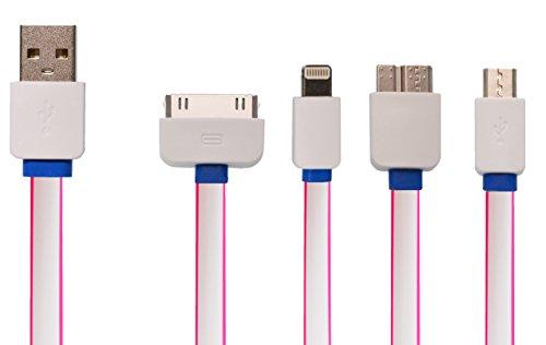 uk-kombi-4in1-kabel blau Blue - Pink Rosa