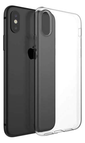 CaseRepublic Transparent Back Cover for Apple iPhone Xs Max