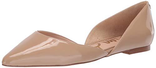 Sam Edelman womens Rodney Ballet Flat, Classic Nude Patent, 8.5 US
