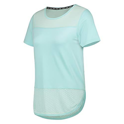 HKMX T-Shirt Performance-Netzgewebe Blau S